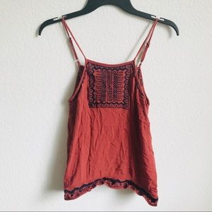 Chloe & Katie open back tank top medium